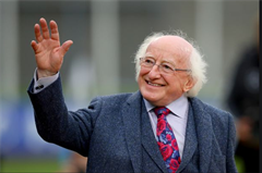 Teachtaireacht ó Uachtarán na hÉireann, Michéal D. Ó hUiginn